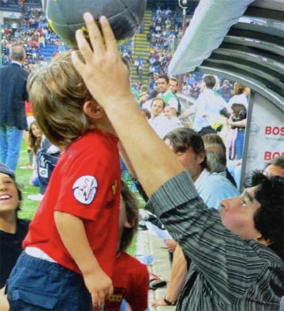 Diego, l'uomo è stato più grande del calciatore.